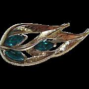 SALE Pristine Madmen Aquamarine (faux) Pin