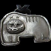 SALE Rare Edgar Berebi Stylized Cat Pendant