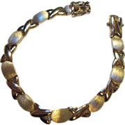 SALE Stunning Vermeil Sterling Florentine Bracelet Fortunoff's