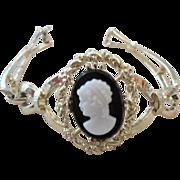 SALE Classic Cameo Victorian Revival Bracelet