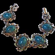 SALE Wonderful  Vintage fx Turquoise Bracelet