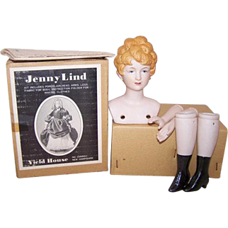SALE Jenny Lind Doll Yield House Replica Kit 1970's