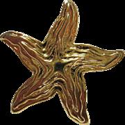 SALE Park Lane Starfish Pin/Brooch Pendant