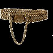 SALE Antique 14K Yellow Gold Bracelet