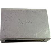 S. Kirk & Son Inc Antique Sterling Silver Match Box # 90