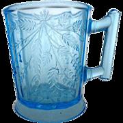 EAPG Duquesne aka Wheat and Barley Blue Mug 1880s