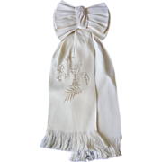 French Communion Shoulder Bow