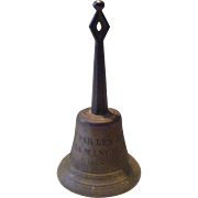 French 19th Century Bronze Hand Bell