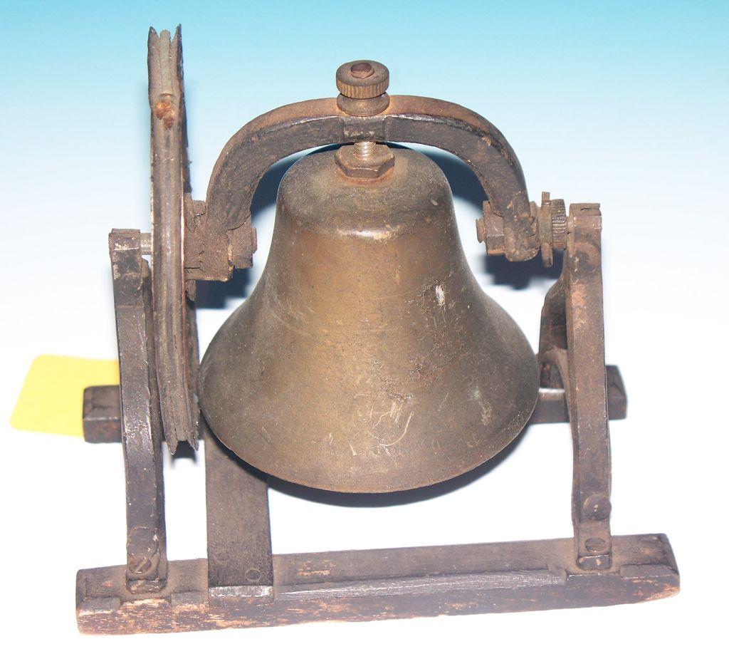Brass Swivel action Door Bell