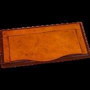 Rosewood & Brass Snuff Box
