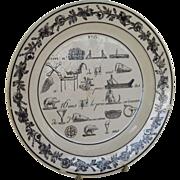 8 1/2 inch Rebus Plate