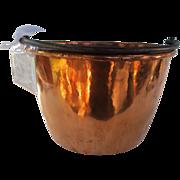 Very fine and rare small size copper kettle