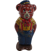 Tin Windup Bear Toy by Chein