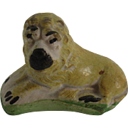 Late 18th Century Staffordshire Figure of Reclining Lion