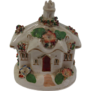 Very Fine Late 18th or Early 19th Century Staffordshire Pastille Burner Cottage