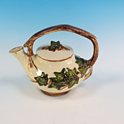 REDUCED McCoy Art pottery tea pot