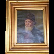 Portrait of a Bearded Man, Oil on Canvas