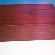 A Nineteenth Century Mahogany Blanket Box