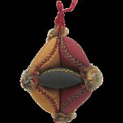 19th Century Puzzle Ball Pin Cushion