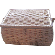 As New Dritz Sewing Basket With Tag