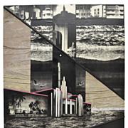"Photography Picture Art Mixed Media Collage ""Miami""  Vera Simons"