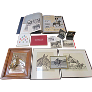 SALE Seabiscuit Collection ~ Memorabilia ~ Lot