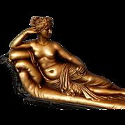 Excellent Collector's Vintage Large Statue of Venus Victorious