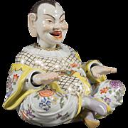 Meissen Porcelain Articulated Nodding Head Pagoda Figure