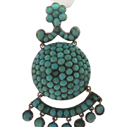 Turquoise Pin or Pendant