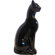 SOLD Baccarat Egyptian Cat