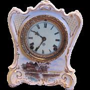 """Royal Bonn Ansonia Clock """"La Charite"""""""