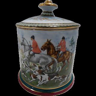 Limoges Tobacco Jar