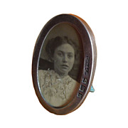 Early 1900s Mini Silver Photo Frame