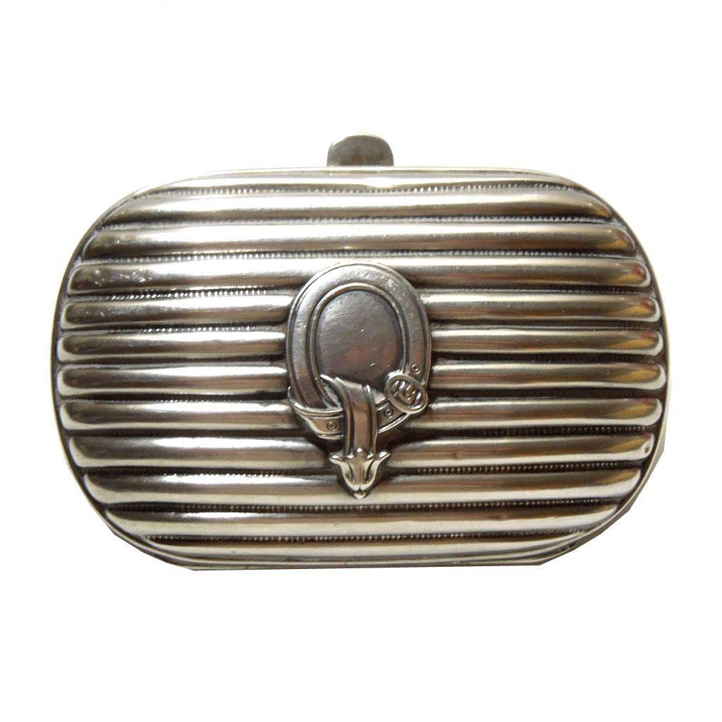 1900's Art Nouveau Sterling Coin Purse