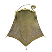 Gorgeous Antique Chain Mesh Bag