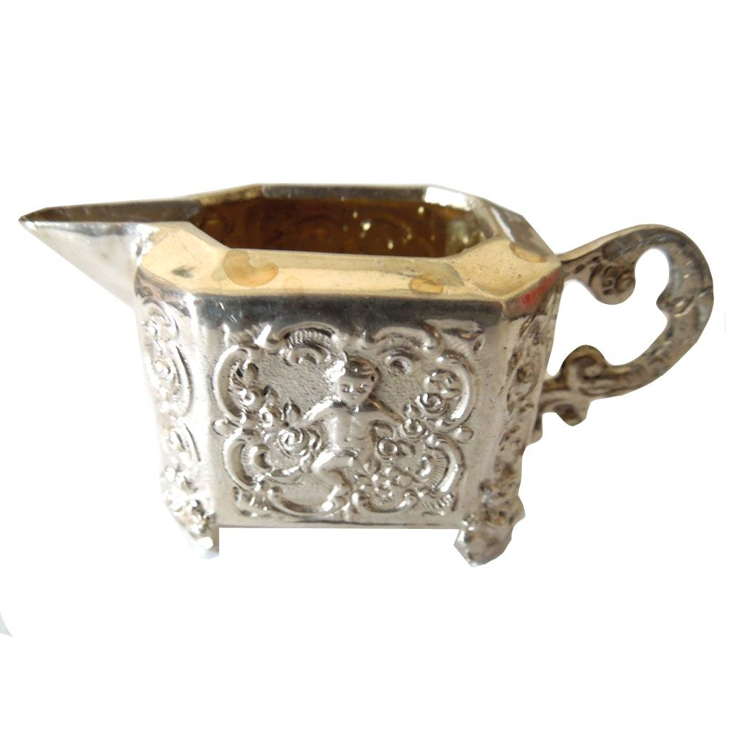 800 Silver Footed Creamer