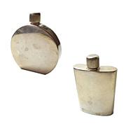 Italian Sterling Mini Perfume Bottles (set of 2)