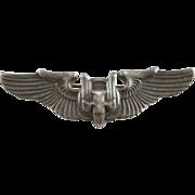 WW2 Sterling Bombardier Pin