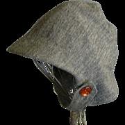 Darling Vintage Child's Custom Made Wool Hat