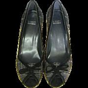 Stuart Weitzman Wool Plaid Shoe