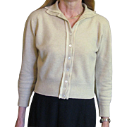 Vintage 1940's Cashmere Sweater