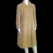 Stunning Vintage 100% Camel Hair Full Length Coat