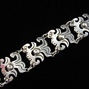 Early Mexican Silver Bracelet