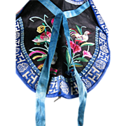Chinese Embroidered Silk Collar