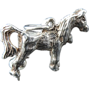 SALE Sterling Silver HORSE Charm