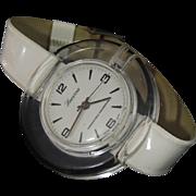 LUCITE Lucerne Watch Retro WHITE