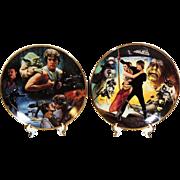 Star Wars Empire Collector's Plates Hamilton 1992 w X2