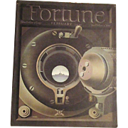 SALE Feb. 1941  Fortune Magazine  Cover by Giusti  Military  WWII