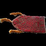 Nomadic  Tribal Bag / Carpet  circa 1890's  Hand Woven