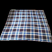 Hand Woven Coverlet Blanket Reversible Pattern 1840-50's